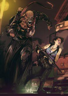 Lorenzo Nuti (@lorenzobaobau) / Twitter Resident Evil Nemesis, Resident Evil Anime, Resident Evil Girl, Resident Evil 3 Remake, Geeks, Resident Evil Collection, Character Art, Character Design, Evil Art