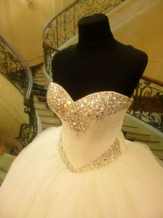 Adding bling to any cutom wedding dress is not an issue.  As custom dressmakers we can prouce all types of #weddingdresses exactly the way you want with any changes.  We can also make a #replicadress of any design from a picture. So if your dream dress is docontinued or over your budget email us a picture to see what we can do.  You can contact us about custom #weddingdresses at www.dariuscordell.com/