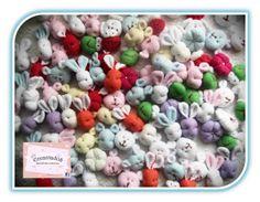 Animalitos De Tela, Portachupetes Accesorios Bebes Souvenirs - $ 110,00 en MercadoLibre