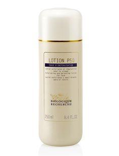All about French cult-beauty brand Biologique Recherche's best-kept skincare secret: http://beautyeditor.ca/2014/07/31/biologique-recherche-lotion-p50/
