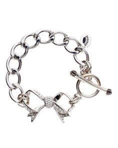 Juicy Couture: Pave Bow Starter Bracelet