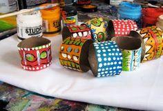alisaburke: Recycled Tribal Necklace