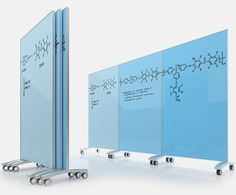 glass board room dividers with etched figures or use wet/dry erase pens. Glass in any color!