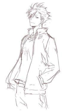 Haikyuu Nekoma, Kuroo Tetsurou, Haikyuu Manga, Haikyuu Fanart, Handsome Anime Guys, Cute Anime Guys, Wie Zeichnet Man Manga, Anime Sites, Kurotsuki