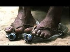 Image result for african child wearing no shoes