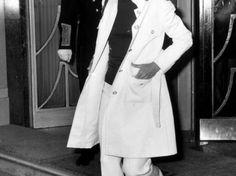 Jacqueline Kennedy Onassis verläßt am 2. September 1970 das