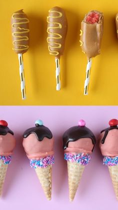 Fair food is delicious — but when it's cake pops shaped like fair food, minds will be blown.