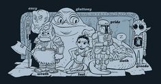Seven deadly sins in Star Wars