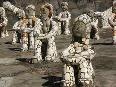 The Nek Chand Rock Garden   Make Mine Mosaic