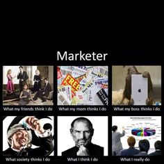 There are so many opinions on what marketers do! Brought to you by ShopletPromos.com - promotional products for your business.