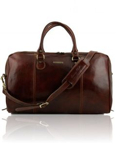 Shakun Handmade Pure Leather Duffel Travel Gym Overnight Weekend Leather Bag Classic Round Eco-Friendly Bag|Duffel Hand Luggage|FREE Shipping SALE