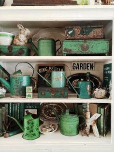 Addicted to shabby green
