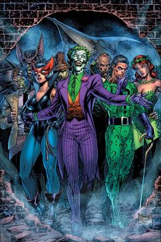 Comic Book Villains, Gotham Villains, Marvel Characters, Batman Comic Art, Joker Art, Joker Batman, Batman Robin, Joker Dc Comics, Dc Comics Art