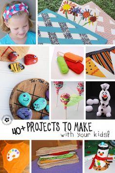 Crafts for Kids {make them together!} - onecreativemommy.com