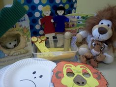 Flame: Creative Children's Ministry: Daniel in the lions' den lesson bag