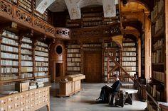 Göttweig Abbey library | Austria (Photo: Jorge Royan)