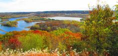 Picture perfect view of Eau Claire