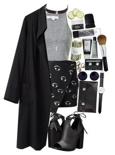 """""""Cross My Heart And Hide My Tears"""" by bipolarbabe ❤ liked on Polyvore featuring moda, Unique, Kenzo, La Garçonne Moderne, UNIF, Daniel Wellington, Linda Farrow, Crate and Barrel, Korres e CASSETTE"""
