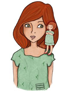 Ilustración sobre el EGO realizada para la revista Dandelion.  (Cristina Mayoral ILUSTRACION)