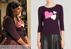 The Mindy Project: Season 3 Episode 19 Mindy's Heart Sweater