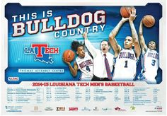 Here is your 2014-15 Men's Basketball schedule! #DunkinDogs #WeAreLATech #BulldogCountry