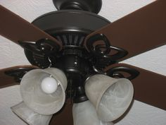 painted ceiling fan?!  stop doubting yourself, its gonna look great!  now if only i knew where that fan was...