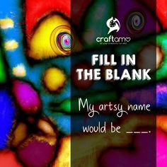 This is a fun question! 😂 What's your artsy screen name? Cruelty Free, Fill, Artsy, Names, This Or That Questions, Creative, Crafts, Manualidades, Handmade Crafts