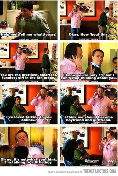 one of the funniest parts of modern family