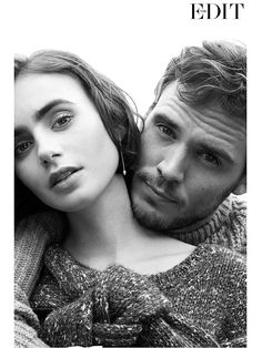 Lily Collins and Sam Claflin Look Hot, Pose Pretty in a Stylish New Spread http://stylenews.peoplestylewatch.com/2014/10/17/lily-collins-sam-claflin-photos-love-rosie/