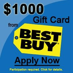 Free Best Buy Gift Cards!!@!@!@ | Other Stuff | Pinterest | Gift ...