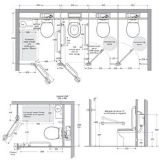 #Interiors Ref ~ #Toilet Cubicle Dimensions
