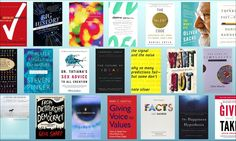 52 books, recommended by TED speakers - Broken into subjects like: Creativity, Design, History, Happiness ...