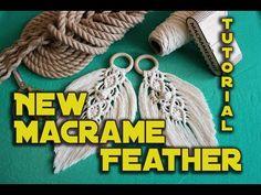 New macrame Feather Easy DIY Macrame tutorial – Macrame Macrame Knots, Micro Macrame, Macrame Jewelry, Macrame Bracelets, Macrame Bracelet Tutorial, Macrame Wall Hanging Diy, Macrame Design, Macrame Projects, Macrame Patterns