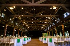 These chiavari chairs from Taste of Excellence made such a dramatic impact on this decor at Happy Days Lodge. Photo: Delumpa Photography