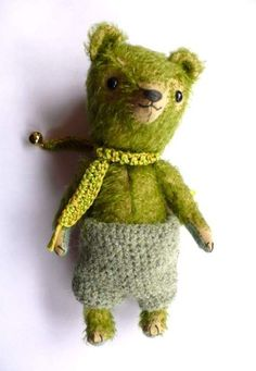 Flipper by By Pussman & co   Bear Pile / I USUALLY DON'T DO BEARS, BUT HIM.....I THINK I LOVE!