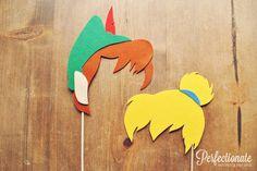 Peter Pan et Clochette Photo accessoires / / par Perfectionate, $31.00