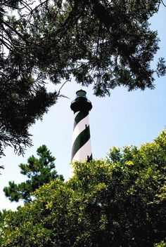 Things to do in the Outer Banks: Hatteras Island. Cape Hatteras Lighthouse. #lighthouse #OBX #NorthCarolinaBeaches #CapeHatteras