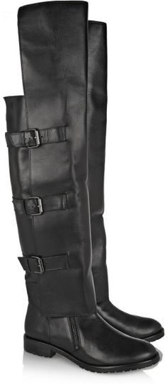 Love this: Tibi Gia Leather Over-the-knee Boots @Lyst