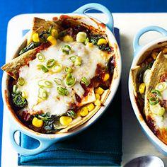 21 comfort food makeovers   Vegetable Enchiladas   Sunset.com