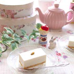 赤坂の有名洋菓子店「しろたえ」のレアチーズケーキの再現レシピ