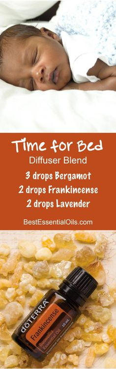 Time for Bed doTERRA Diffuser Blend