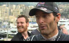 LMAO! Fassy & Mark Webber