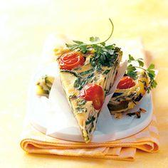 Zucchini-Tortilla http://www.essen-und-trinken.de/rezept/62244/zucchini-tortilla.html