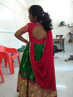 new collection of baby girl dresses Girls Frock Design, Kids Frocks Design, Baby Frocks Designs, Kids Lehanga Design, Indian Dresses For Kids, Dresses Kids Girl, Girl Outfits, Kids Saree, Kids Lehenga