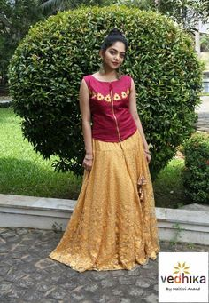 fb34f12052 Lehenga Blouse, Saree Dress, Dress Skirt, Frock Style Kurti, Traditional  Skirts,