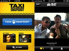 Taxi Snapshot is an App That Turns NYC Taxicabs into Social Photo Booths