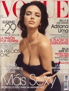 Adriana Lima Beautiful natural makeup