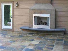 Patio Floor | Concrete Patio floor | Pebble Patio Floor | Brick Patio Floor | Patio Flooring | Patio Floors | Outdoor Patio Floor  - GharExpert.com