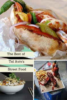 The Best of Tel Aviv's Street Food Worldwide City's Eats
