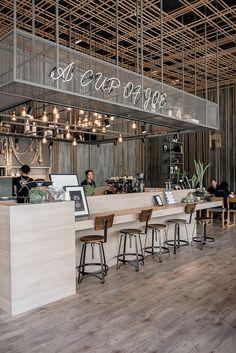 Фотография | Художественное оформление магазина кофе ...